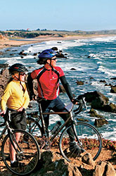Monterey Santa Barbara biking photo